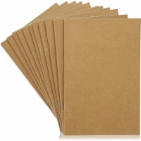 A5 Kraft Paper Notebook, Blank Journals for Travelers, Students (5.5x8.5, 24 Pack) - PACK