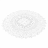 """59"""" Round Lace Tablecloth Elegant Floral Table Cloth For Birthday Wedding Party"""