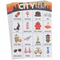 50x Metro City Scavenger Hunt Set for Kids Children Game Cards Birthday Party