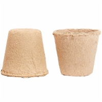 192x Peat Pots for Seedlings Seed Starter Tray Biodegradable, Round, 3 Inches