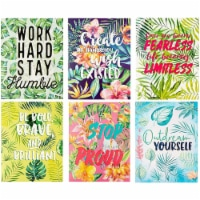 Tropical Pocket Folders with Motivational Quotes (12 x 9.25 In, 12 Pack) - PACK