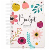 Floral Monthly Budget Planner, Bill Organizer with 24 Pockets, Debt Tracker (5x7 In) - PACK