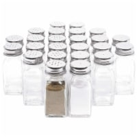 Juvale Glass Salt and Pepper Shakers (24 Pack)