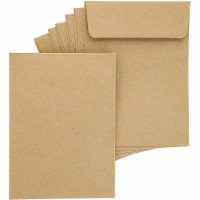 Juvale 100-Pack Bulk Self Seal Kraft Seed Envelope Pouches, 4.5 x 3 Inches - PACK