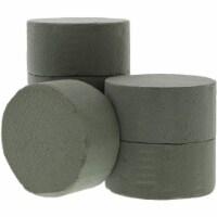 Floral Foam Cylinder for Fresh Flower Arrangements (3.75 x 1.8 in, 6-Pack) - Pack