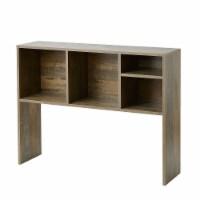 The Cube - Dorm Desk Bookshelf - Rustic - 1 Bookshelf
