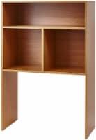 Yak About It® Extra Depth Cube Dorm Desk Bookshelf - Beech - 1 Bookshelf