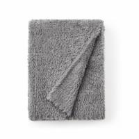 Cozy Potato™ Holy Plush Throw Blanket - Gray - 1 Blanket