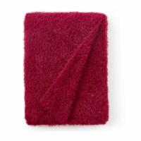 Cozy Potato™ Crazy Messy Plush Throw Blanket - Sun-Dried Tomato - 1 Blanket