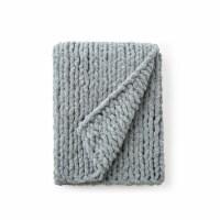 Cozy Potato™ Chenille Chunky Knit Throw Blanket - Graphite Gray - 1 Blanket