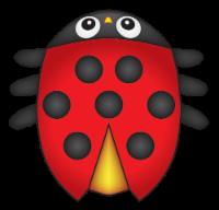 X Kites® Ladybug MicroKite
