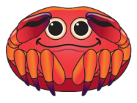 X Kites® MicroKite SeaCreature Kite - Crab