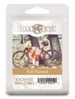 Oak & Rye™ Wax Cube - Fall Flannel - 6 ct / .41 oz