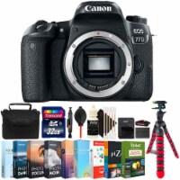 Canon Eos 77d 24.2mp Digital Slr Camera Body Accessory Bundle - 1