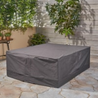 Charlene Outdoor Waterproof Chat Set Cover, Gray - 1 unit