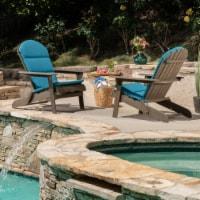 Amenda Outdoor Acacia Wood Adirondack Chairs with Cushions (Set of 2) - 1 unit