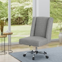 Tucker Adjustable Seat Height Home Office Chair w/ Casters - 1 unit