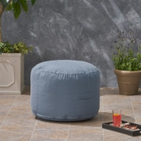 Crystal Cay Outdoor Water Resistant 2' Ottoman Pouf