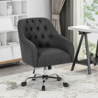 Uriel Tufted Home Office Chair with Swivel Base - 1 unit