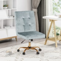 Theodore Glam Tufted Home Office Chair with Swivel Base