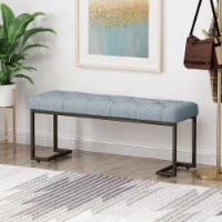 Gladys Modern Fabric Bench