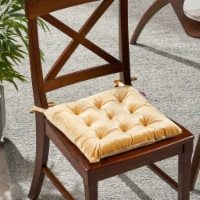 Vita Tufted Velvet Dining Chair Cushion - 1 unit