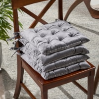 Wendy Tufted Velvet Dining Chair Cushions (Set of 4) - 1 unit