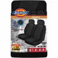 Dickies Universal Seat Covers - Black - 2 pk
