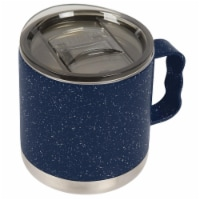 Icy-Hot Hydration T15000001 15 oz Double-Wall Vacuum Insulated Camp Mugs with Slide Lid, Navy