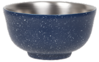 FIfty/Fifty Insulated Bowl & Lid - Speckled Navy