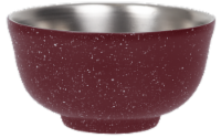 Fifty/Fifty Vacuum Insulated Bowl & Lid - Speckled Brick Red
