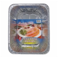 Home Plus 6391965 9.25 x 11.75 in. Durable Foil Deep Roaster  Silver - pack of 12