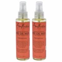Shea Moisture Coconut & Hibiscus Dry Oil Mist  Pack of 2 4 oz - 4 oz