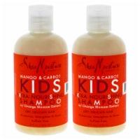 Shea Moisture Mango & Carrot Kids ExtraNourishing Shampoo  Pack of 2 8 oz