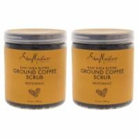 Shea Moisture Raw Shea Butter Ground Coffee Scrub  Pack of 2 12 oz - 12 oz