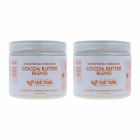 Shea Moisture Smoothing Hydration Cocoa Butter Blend  Pack of 2 Body Cream 12.5 oz - 12.5 oz