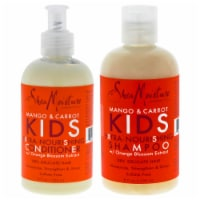 Shea Moisture Mango and Carrot Kids Extra Nourishing Duo Shampoo and Conditioner 8 oz