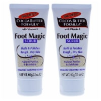 Palmers Cocoa Butter Foot Magic Scrub  Pack of 2 2.1 oz