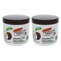 Palmers Coconut Oil Curl Styler Cream Pudding  Pack of 2 14 oz