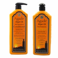 Argan Oil Daily Moisturizing Shampoo and Conditioner Kit