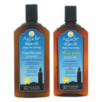 Agadir Argan Oil Daily Volumizing Shampoo and Conditioner Kit 12.4oz Shampoo, 12.4oz Conditio - 2 Pc Kit