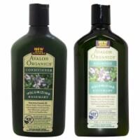 Avalon Organics Organics Volumizing Rosemary Shampoo and Conditioner Kit 11oz Shampoo, 11oz C