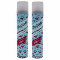 Batiste Dry Shampoo  Fruity and Cheeky Cherry  Pack of 2 6.73 oz