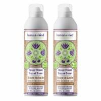 Human+Kind Shower Mousse Bodywash  Coconut Dream  Pack of 2 Body Wash 6.76 oz - 6.76 oz