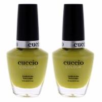 Cuccio Colour Nail Polish  Seriously Celsius  Pack of 2 0.43 oz - 0.43 oz