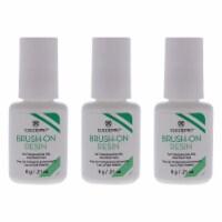 Cuccio Pro BrushOn Resin  Pack of 3 Nails Resin 0.5 oz