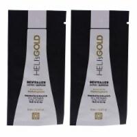 Helis Gold Revitalize Shampoo  Pack of 2 0.34 oz - 0.34 oz