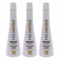 Helis Gold Revitalize Shampoo  Pack of 3 10.1 oz - 10.1 oz