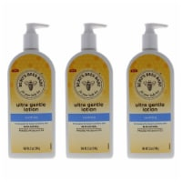 Burt's Bees Baby Ultra Gentle Lotion  Soothing  Pack of 3 Body Lotion 12 oz - 12 oz