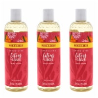 Burt's Bees Energizing Citrus and Ginger Body Wash  Pack of 3 12 oz